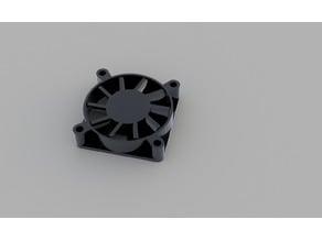 Fan 40x40mm CAD Model