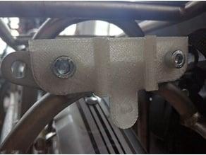 Planet Bike rear light mount for European rack 50mm mounting holes