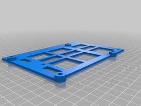 Duet Wifi/Ethernet board adapter for FlashForge Creator Pro