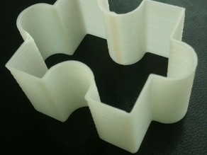 Jigsaw Piece Cookie Cutter