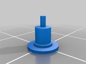 15/16 Inch (0 Gauge) Fidget Spinner Ear Gauge