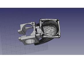 Easy Access E3D V5 SINGLE fan duct holder