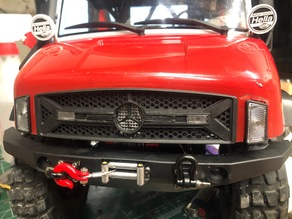 axial umg10 mercedes grill badge