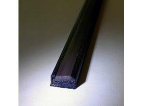 Flexible Magnetic Strip Insert Holder
