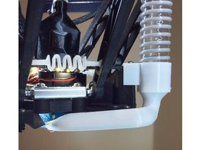 Alternate Suction Head for attaching a Zimpure Air Purifier to the SE300 hot end