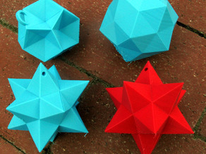Small Stellated Dodecahedron as Ornament