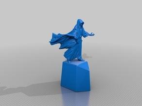 Mage statue