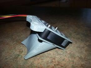 Geeetech G2/s/Pro 40mm Layer Fan Duct