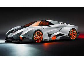 Lamborghini Egoista (HD)
