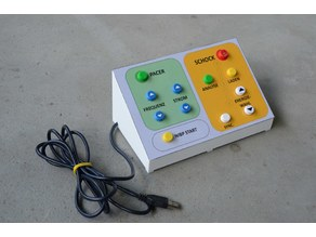 Control panel casing for Vital Sign Simulator