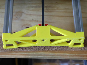 "Makerfarm Y-Axis Endplate for i3v 10"" with Belt Tensioner"