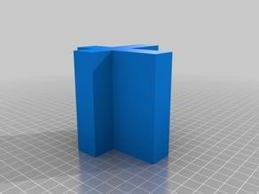 Figuras 3D para trabajar la obtención de vistas ortogonales XV
