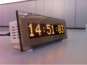 eDOT - Arduino based precision clock and weather station, multipurpose information display