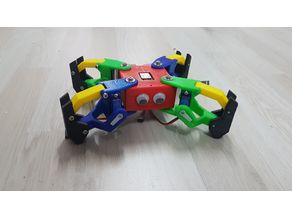 Poor Mini Kame - 8 DOF Quadruped Robot