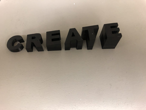 Create Sign Letters