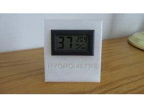 Hygromètre support/ Hygrometer cassing