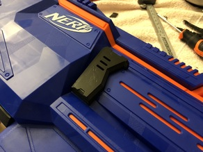 Expanded Motor Cover for Nerf INFINUS