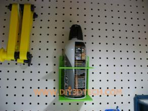 Pegboard Air (or any 66.5mm)  Can Holder!