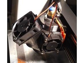 MP Mini Select V2 E3Dv6 Mount w. Fan Cooler