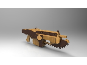 Lancer Gears Of War Laser Cut