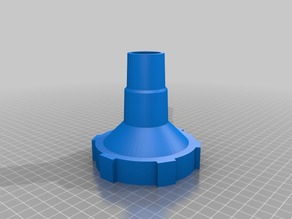 Hose adapter for pool vacuum cleaner