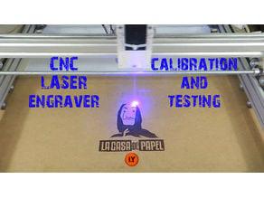 ARDUINO CNC LASER ENRGAVER PART 3 : CALIBRATION & TESTING