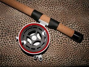 Fishing rod REEL  -  MOULINET de canne a peche