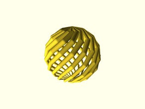 Générateur de sphère