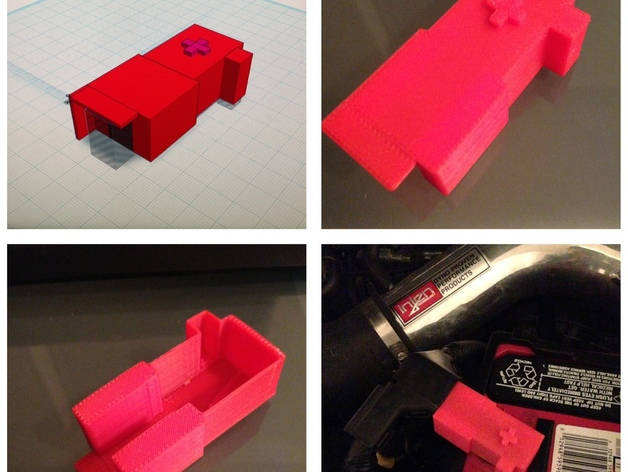 Positive Car Battery Terminal Cover By Evenq Thingiverse