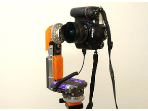 Automatic 3D 360 Panorama DSLR Camera Head