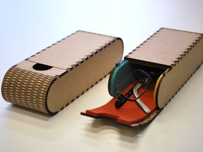 Portable glasses case (f.Labo)