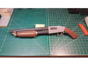 High Quality Team Fortress 2 (TF2) Stock Shotgun