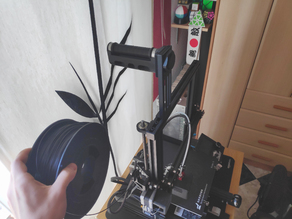 Filament support with bearings for Ender 3
