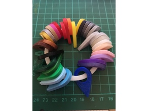 PLA Colour Swatch