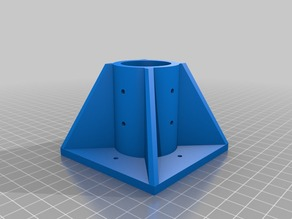 Table support for 1 1/4 pvc