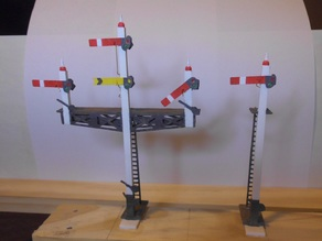 OO Scale Working Semaphore Signals