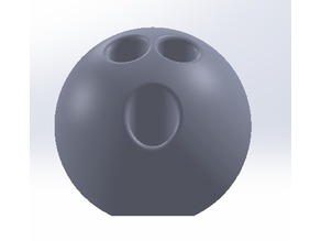Bowling Ball Pencil Holder