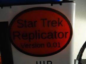 Star Trek Replicator Plaque