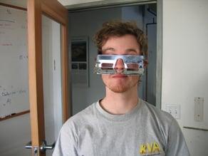 Vision Flipping Glasses
