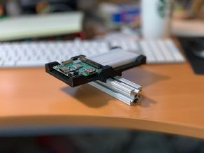 8020 Series 10 mount for Raspberry Pi A+ W/proto board