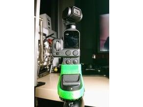 DJI Osmo Pocket with wireless adapter tripod holder / handle