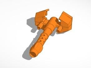 Iron giant gun