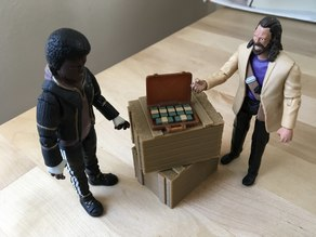 Briefcase Full of Cash (1:18 scale)