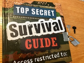 Key for the Top Secret Survival Guide Book