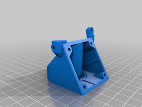 Solidoodle Extruder Fan Mount & Duct