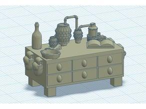 Alchemist Desk - Closed