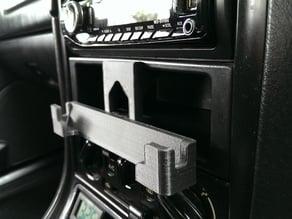 Mazda MX-5 Miata (or similar '99 era Mazda) DIN HTC One M7 Holder