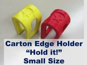 "Carton Edge Holder ""Hold it!"" Small Size"