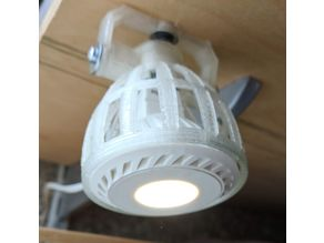 Simple lamp for GU5.3 led bulb