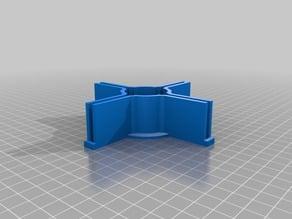 My Customized Parametric Model Rocket Fin Alignment Tool